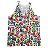 TMNT: Comic Pattern Print Tank - Adult