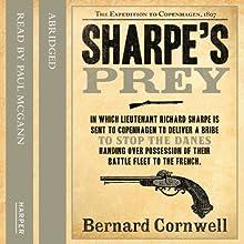 Sharpe's Prey: Sharpe, Book 5 Audiobook by Bernard Cornwell Narrated by Paul McGann