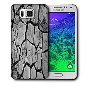 Snoogg Abstract Floor Printed Protective Phone Back Case Cover For Samsung Galaxy SAMSUNG GALAXY ALPHA