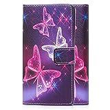 tinxi® Kunstleder Tasche für LG K4 Tasche Flipcase