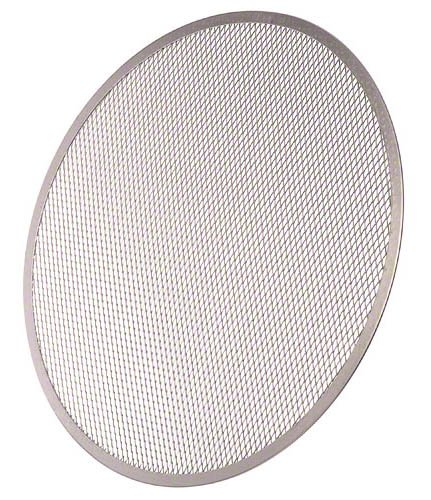 Update International Ps-18 Aluminum Pizza Screen, 18-Inch