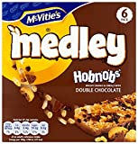 McVities Medley Hobnobs Double Chocolate Cereal Bars 40 g (Pack of 24)