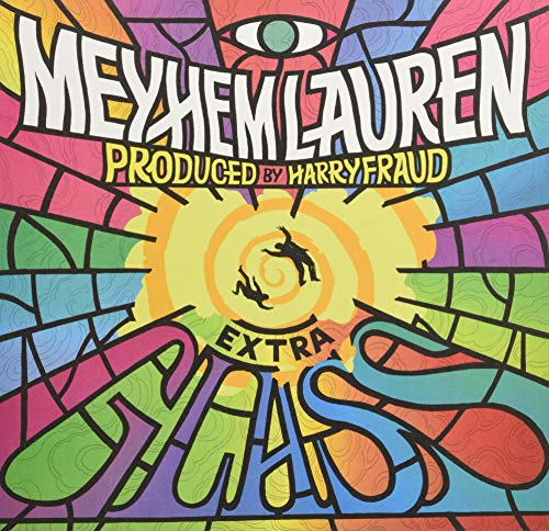 Vinilo : MEYHEM, LAUREN / FRAUD, HARRY - Extra Glass (Colored Vinyl, Italy - Import)