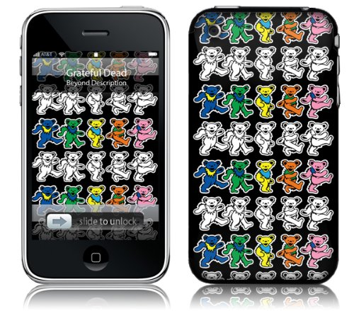 Music Skins iPhone 3G/3GS用フィルム  Greatful Dead - Dancing Bears  iPhone 3G/3GS MSRKIP3G0344