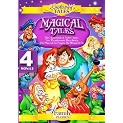 Magical Tales(4 Discs)Hunchback, Prince & the Pauper,Tom Thumb meets Thumbelina,Wizard of Oz