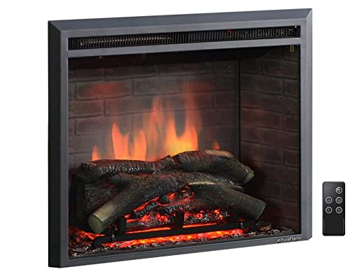 This Electric Fireplace Heater Insert Can Quickly And Easily Be Installed  Anywhere You Have A Fireplace Already. It Boasts Energy Efficient LEDs And  An ...