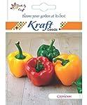Kraft Seeds Hybrid Capsicum Seeds by Kraft Seeds