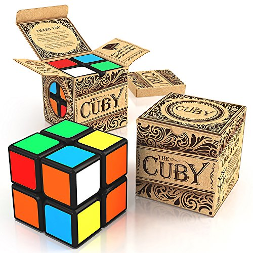 The Cuby - The Best Two-Layer Brain Teaser 2x2 Cube - Perfect For Beginners - Hours of Fun In The Palm Of Your Hand - (Thing 1 And 2 Accesories compare prices)