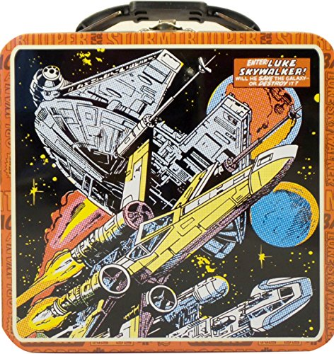 The Tin Box Co. Star Wars Comics Millennium Falcon Tin Carry All With Handle (The Tin Box Co compare prices)