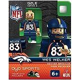 NFL Denver Broncos Wes Welker Gen 2 Mini Figure, Small