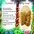 10 LBS 100% Biodegradable Camping Soap Block (Natural All In One Herbal Face/Hair/Body Wash, 100% Raw)