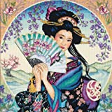 Dimensions Needlecrafts Counted Cross Stitch, Enchanting Geisha