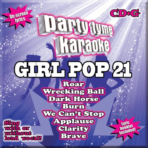 Party-Tyme-Karaoke-Girl-Pop-21-88-song-CDG