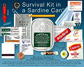 Survival Kit in a Sardine Can - Two Pack