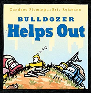 Book Cover: Bulldozer Helps Out