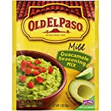 Old El Paso Guacamole Seasoning Mix, 1 Ounce (Pack of 32)