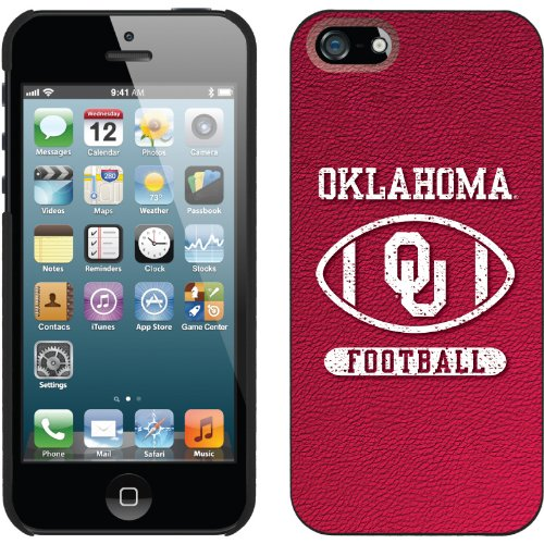 Special Sale University of Oklahoma - Varsity design on a Black iPhone 5s / 5 Thinshield Snap-On Case by Coveroo