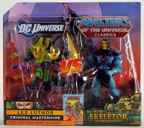 Picture of Mattel DC Universe & Masters of the Universe Classics Exclusive 2Pack Skeletor Vs. Lex Luthor Figure (B003AOR8XK) (Mattel Action Figures)