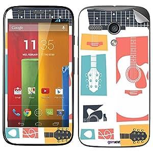 GsmKart MGT Mobile Skin for Motorola Moto G Turbo (Moto G Turbo-761)