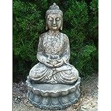 Large Garden Sculptures - Tranquil Thai Buddha Statue Figurine