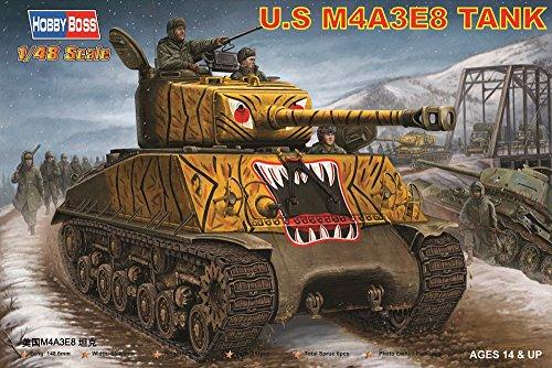 1/48 アメリカM4A3E8 シャーマン 朝鮮戦争