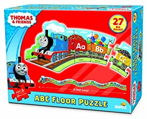Amazon Com Thomas Abc 6 Floor Puzzle Toys Amp Games
