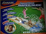 Banzai Speed Blast Water Slide High Speed Sliding Action Blast Through Water Tunnel with Gaden Hose Attachment