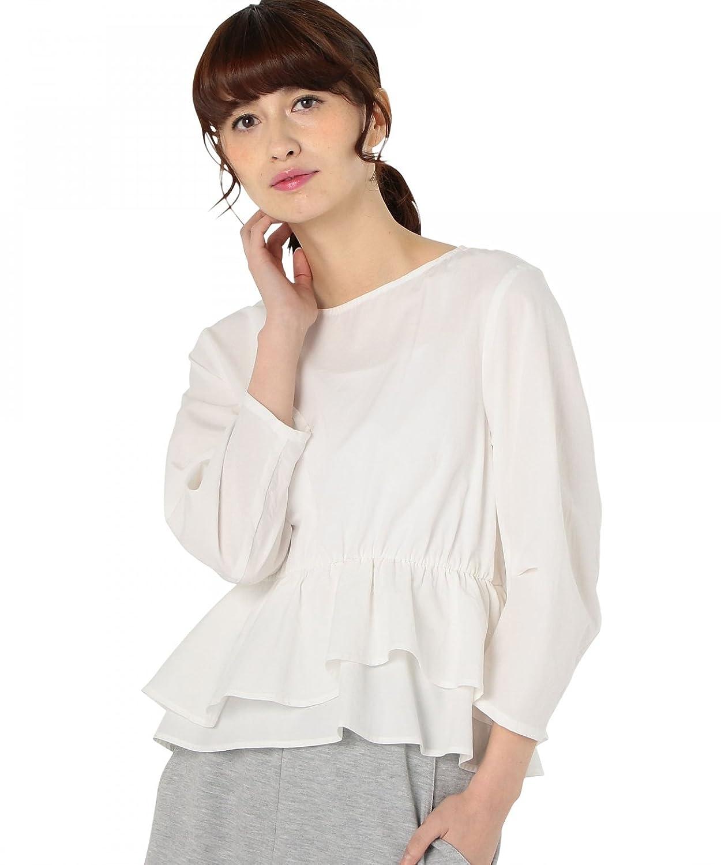 Amazon.co.jp: (アナザーエディション) Another Edition AEBFC TEN/C ヘムフリル BL 56212990671 03 Off White FREE: 服&ファッション小物