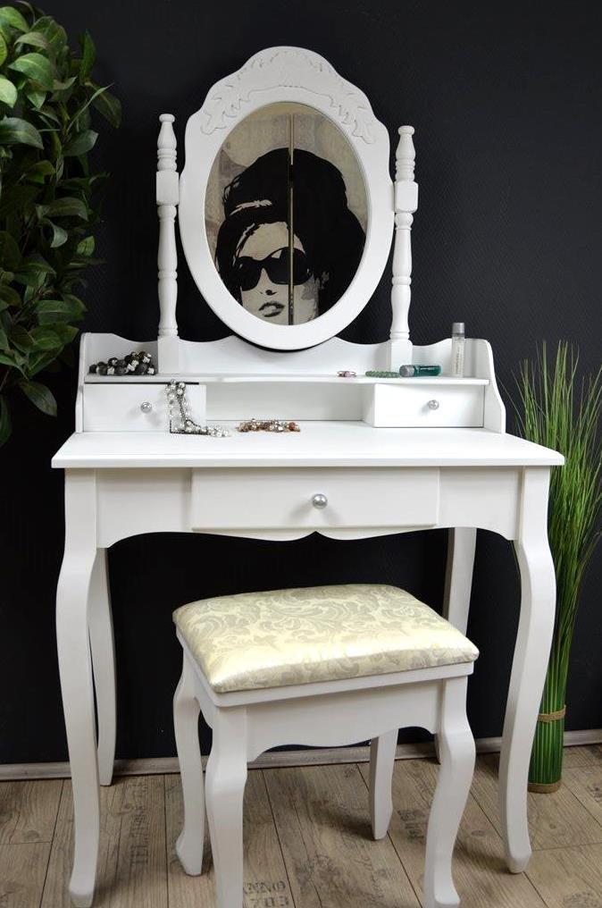 schminktisch wei. Black Bedroom Furniture Sets. Home Design Ideas