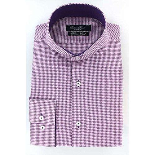Cotton Park-Camicia John P-Parma-Uomo Violet 39/40 (S)