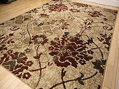 Modern Burgundy Rug For Living Room Red Cream Beige Area Rugs Hallway Runner Rug Clearance Contemporary Rugs Blue Cream Beige Rug