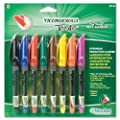 Ticonderoga Vis-Aid Overhead Projection Markers, Fine Point, Pack of 8 Assorted Colors (88248)