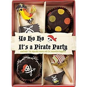 Meri Meri Pirate Cupcake Kit, Makes 24