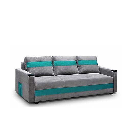 Sofa Ibiza Couchgarnitur, Komfortsofa, Wohnzimmer, Sofagarnituren Polstersofa Couch (Ibiza 28 + Soro 86)