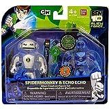 Ben 10 Alien Creation Chamber Mini Figure 2-Pack Spidermonkey and Echo Echo