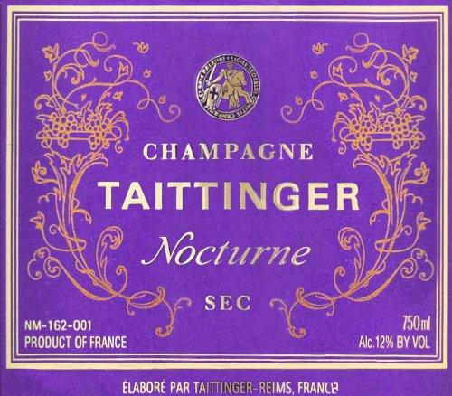 Nocturne Sec NV Taittinger  Champagne 750 mL