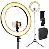 [Upgraded] 18inch LED Ring Light w/ 78
