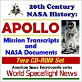 img - for 20th Century NASA History: APOLLO - Mission Transcripts and NASA Documents (Two CD-ROM Set) by World Spaceflight News (2001-06-07) book / textbook / text book