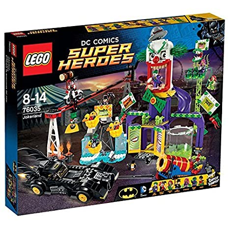LEGO - 76035 - DC Comics Super Heroes - Jeu de Construction - Jokerland