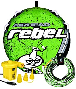 AIRHEAD AHRE-12 Rebel Tube, Rope and Pump Kit by Kwik Tek