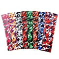 COOLOMG (One Piece) Youth Adult Compression Arm Sleeve Baseball Digital Camo XXS-XL