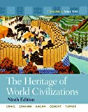 img - for The Heritage of World Civilizations: Volume 2 with NEW MyHistoryLab with Pearson eText -- Access Card Package (9th Edition) book / textbook / text book