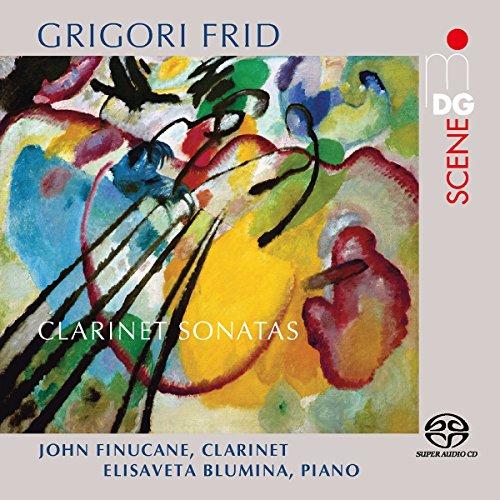 SACD : John Finucane - Elisaveta Blumina - Clarinet Sonatas (Hybrid SACD)