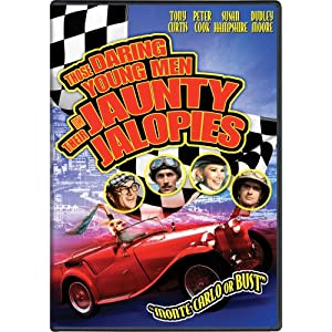 Those Daring Young Men In Their Jaunty Jalopies starring Tony Curtis.