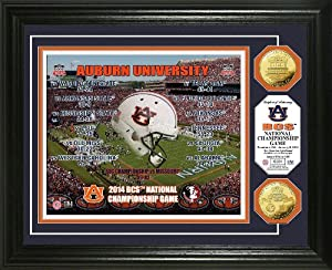 Highland Mint Auburn University 2014 Bcs National Championship Gold Mint Coin Ph by Highland Mint