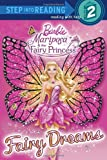 Fairy Dreams (Barbie) (Step into Reading) (Paperback) ~ Mary Man... Cover Art