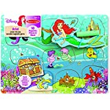 Ariel Under The Sea Wooden Magnetic Game