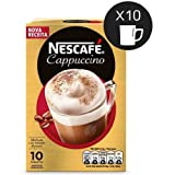 Nescafe Cappuccino 10 Sachets (Color: Red)