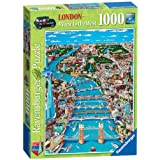Ravensburger Puzzle - London, a View to the West (1000 pieces)by Ravensburger