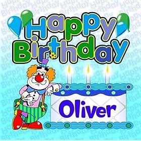 Happy Birthday Oliver The Birthday Bunch Amazon Co Uk